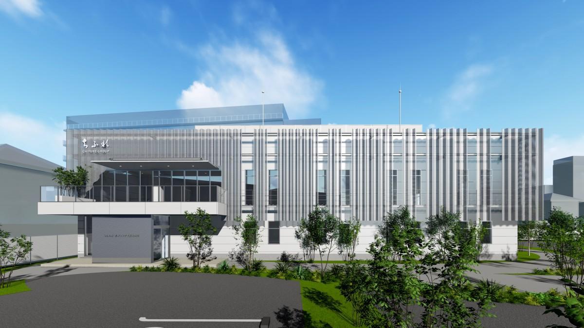 新・総合研究所(仮称)の完成イメージ