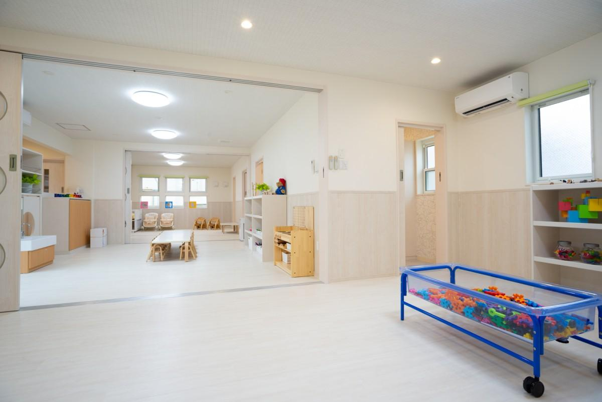 「ちふれあい保育園」内0~2歳児の部屋