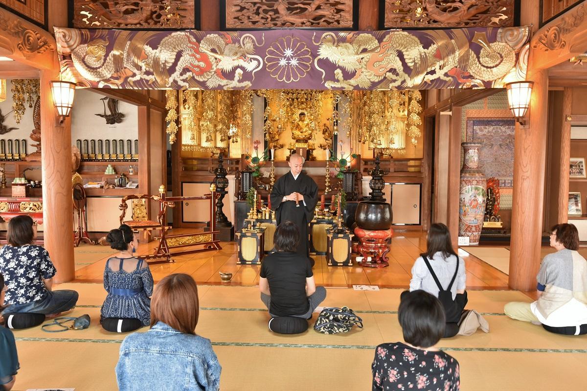 最明寺 イベントの様子