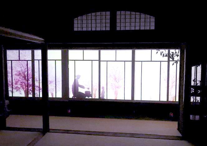 旧山崎家別邸のライトアップイベント