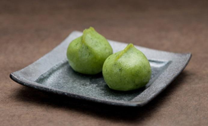 紋蔵庵(もんぞうあん)の草餅