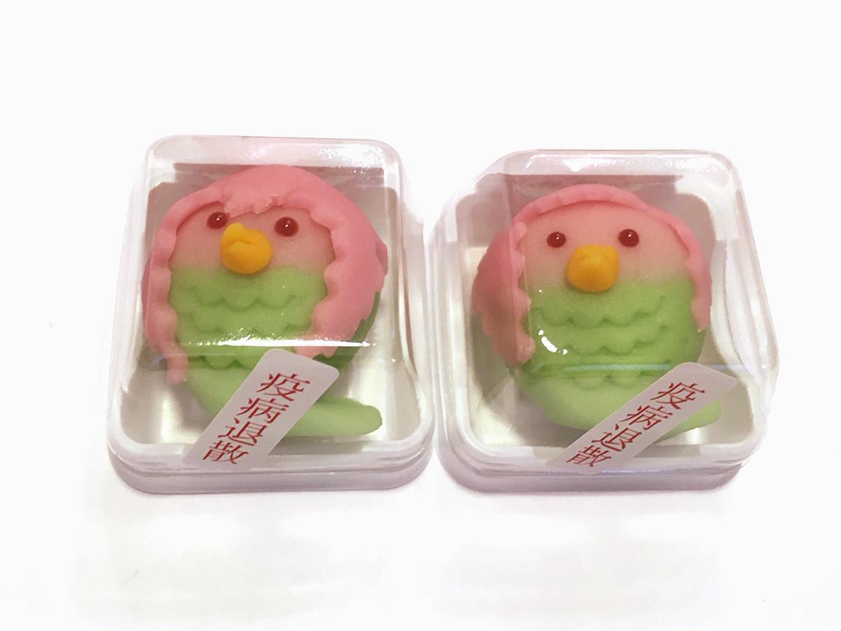 くらづくり本舗の「アマビエ上生菓子」