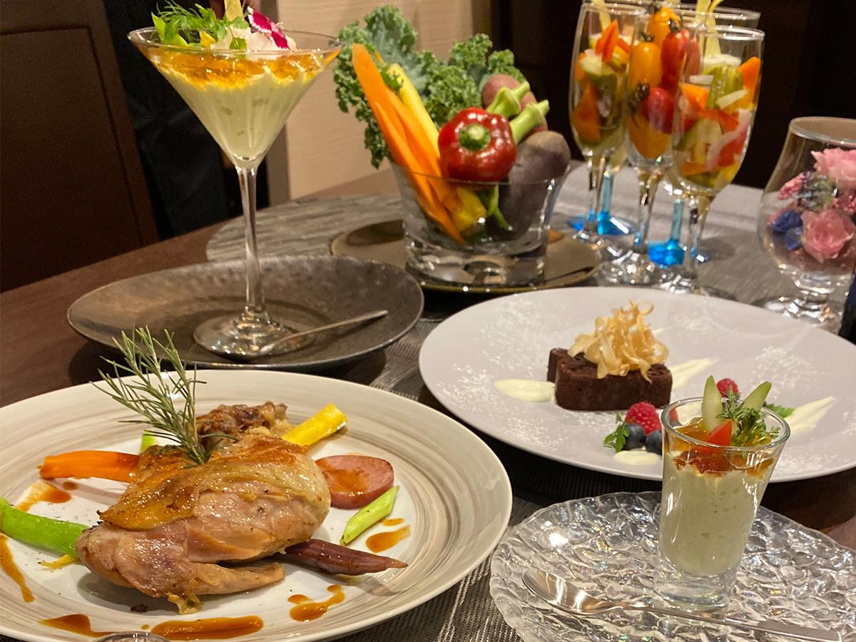 「ビストロ プティ ソレイユ」の料理