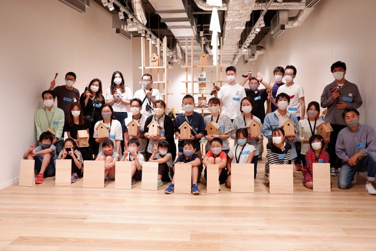 木工教室の参加者