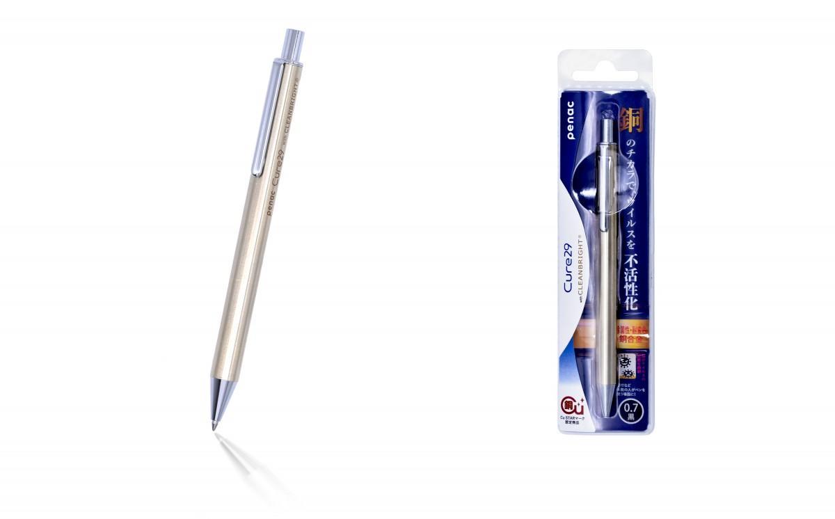 抗ウイルス銅製ペン「Cure29」