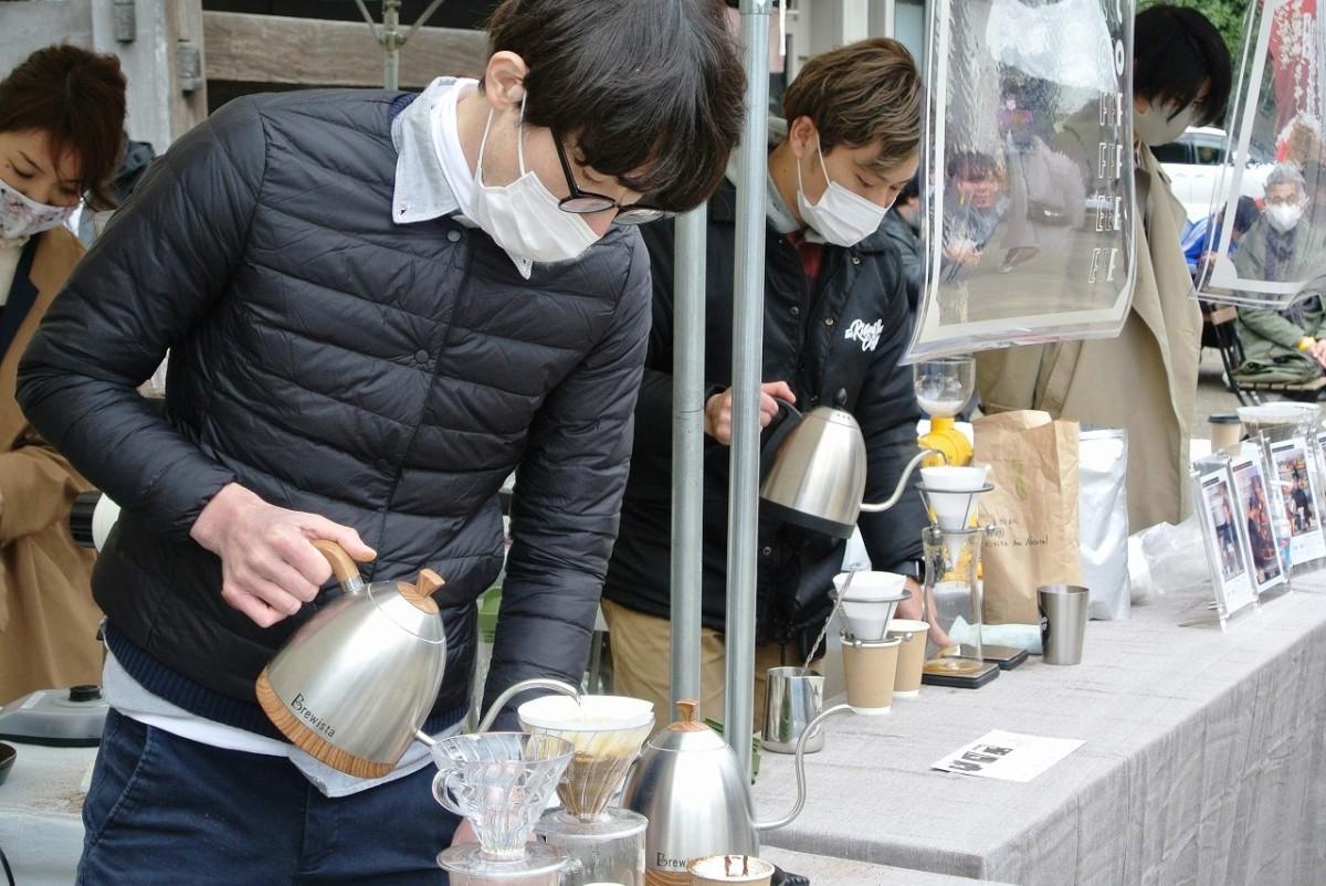 「川越コーヒーフェスティバル・ミニ」会場の様子