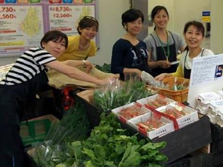 運営の中心は川崎市内のママさんたち「マルシェガールズ」