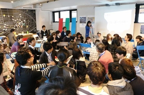 高校生や大学生、川崎市職員との話し合いは8時間に及んだ