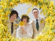 川崎のラ チッタデッラで「ミモザの日」 国際女性デーに合わせ