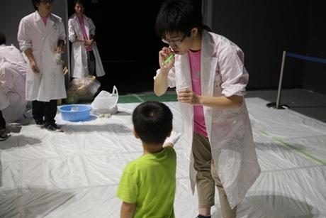 理工学生が企画 川崎・東芝未来科学館で子ども向けイベント