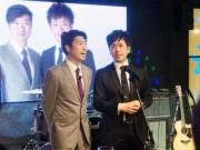 お笑いコンビ「アップダウン」が川崎初の単独ライブ 歌の披露も