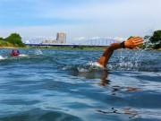 川崎でオフロード版ミニトライアスロン大会 多摩川の自然を有効活用
