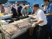 川崎・南部市場で「さんま祭り」 さんま1000尾無料振る舞いも