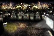 川崎臨海部で映画「ブレードランナー2049」公開記念パーティー 工場夜景をバックに