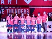 川崎・高校生の歌声がアリーナに響き渡る 川崎市歌を合唱し初日戦に勝利を導く