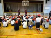 川崎市立向小学校で「ふれあいスポーツ教室」 川崎ブレイブサンダースの2選手参加