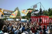 川崎フロンターレが東北支援イベント 「陸前高田とともに」と市長