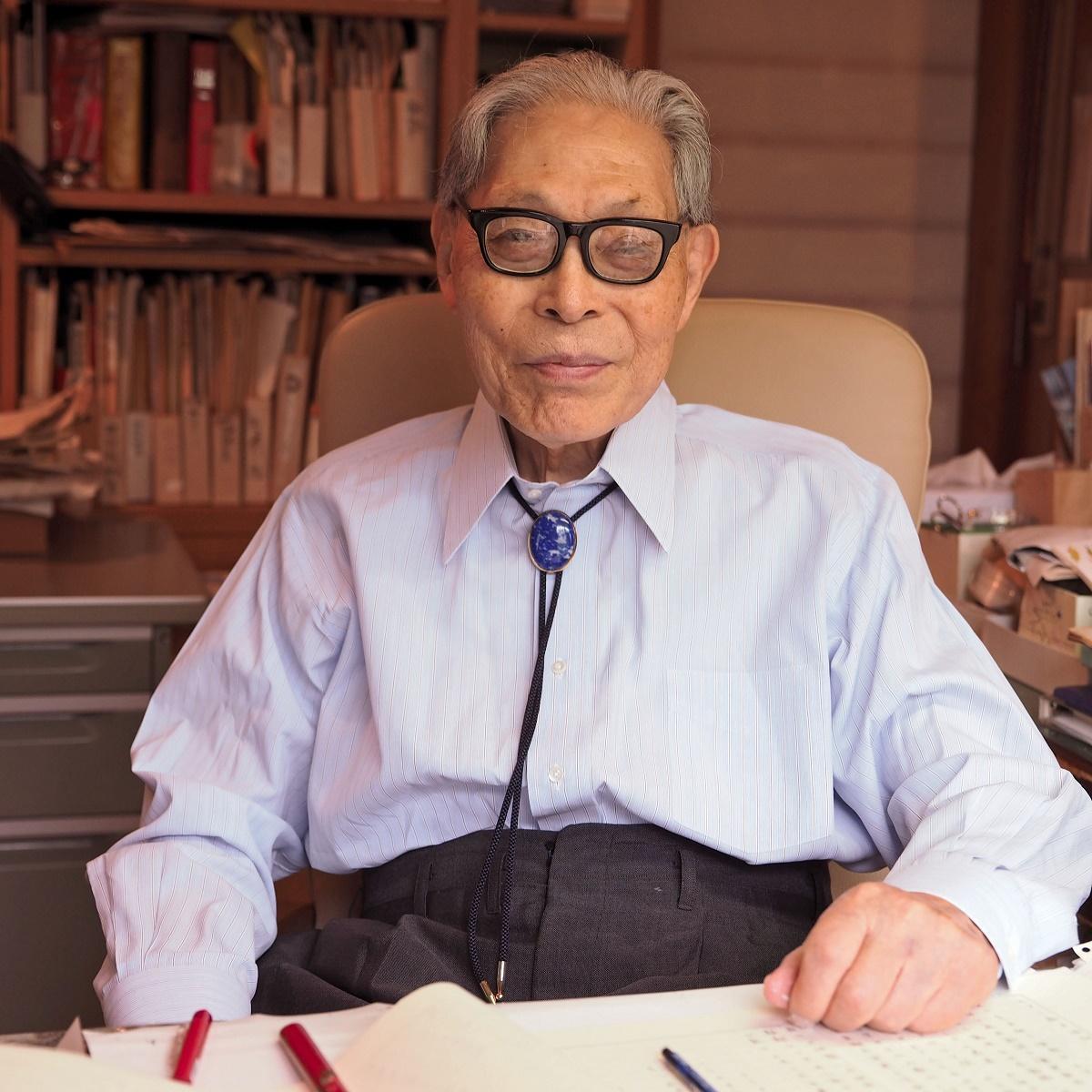 かこさとしさん(2015年撮影)