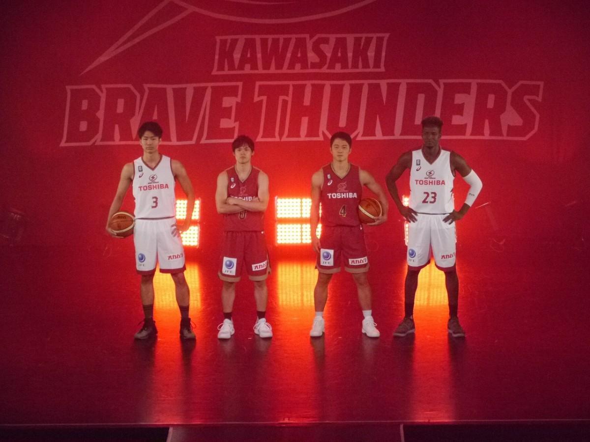 川崎ブレイブサンダースが2018-19シーズンユニフォームを発表