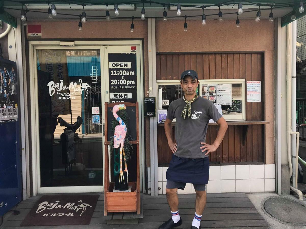 塚越銀座商盛会実行委員長の外山宏昭さん