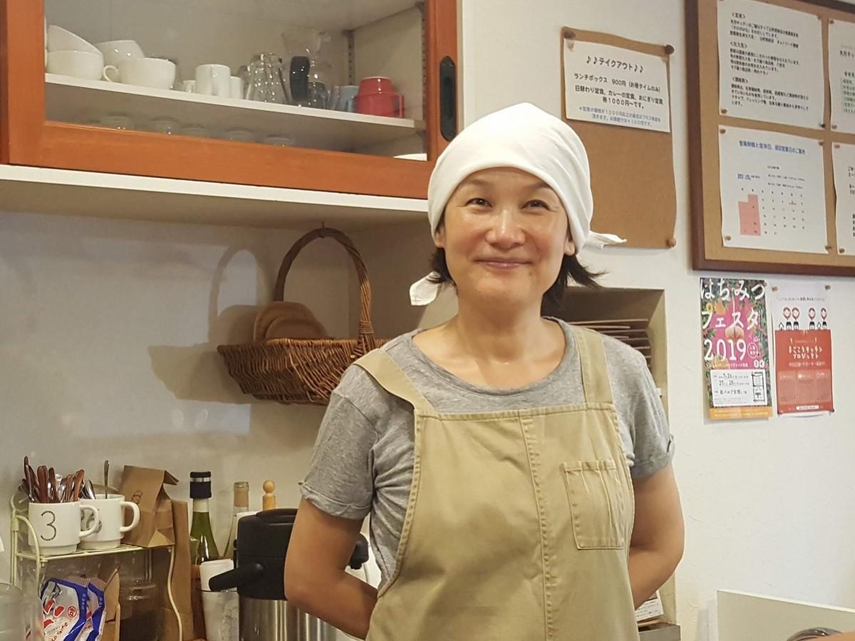 店主の時田正枝さん