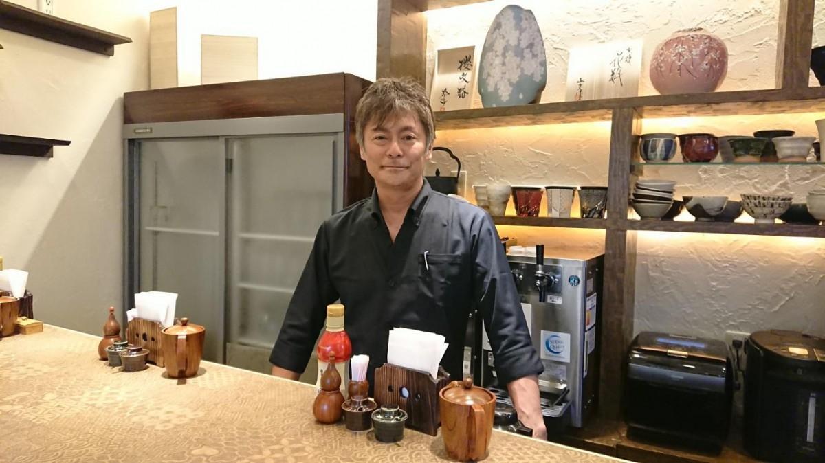 経営者の寺田哲也社長
