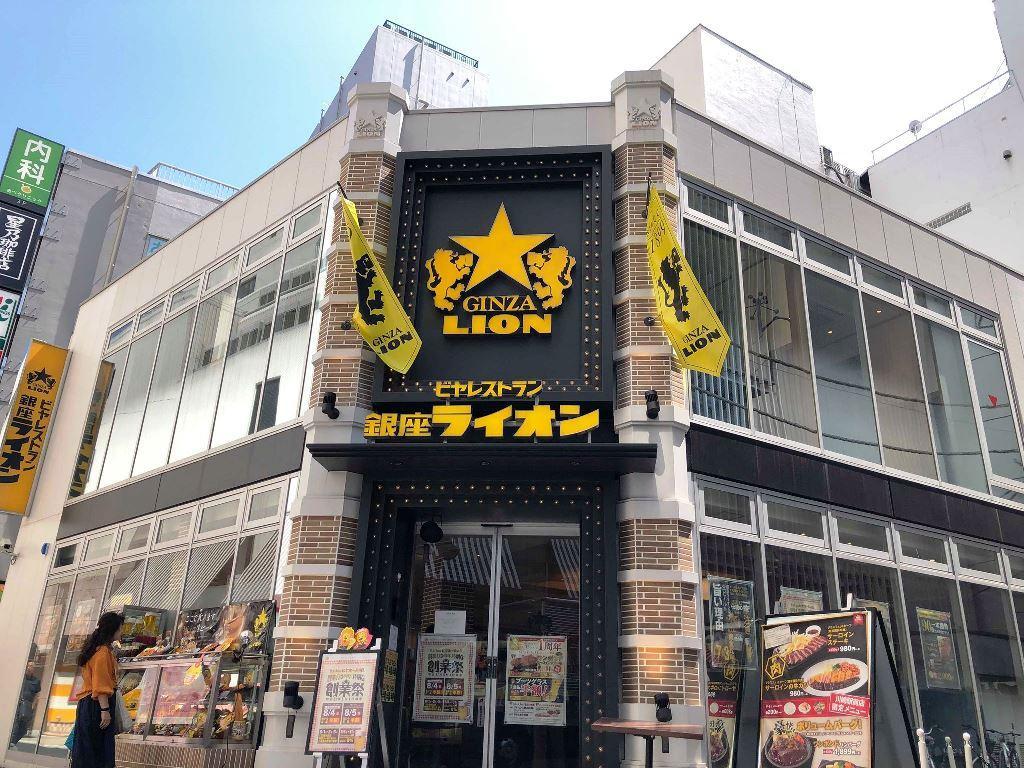 1周年を迎える銀座ライオン川崎駅前店