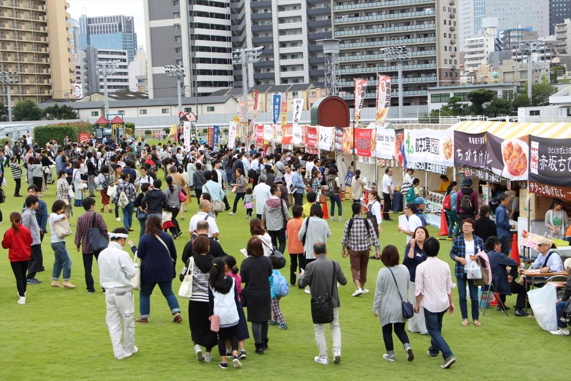前回行われた川崎競馬場では2日間で10万人を集めた