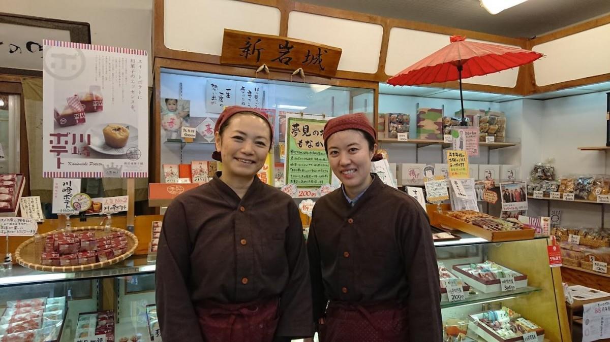 おかみの徳植由美子さん(左)と若おかみの洋円(みのぶ)さん