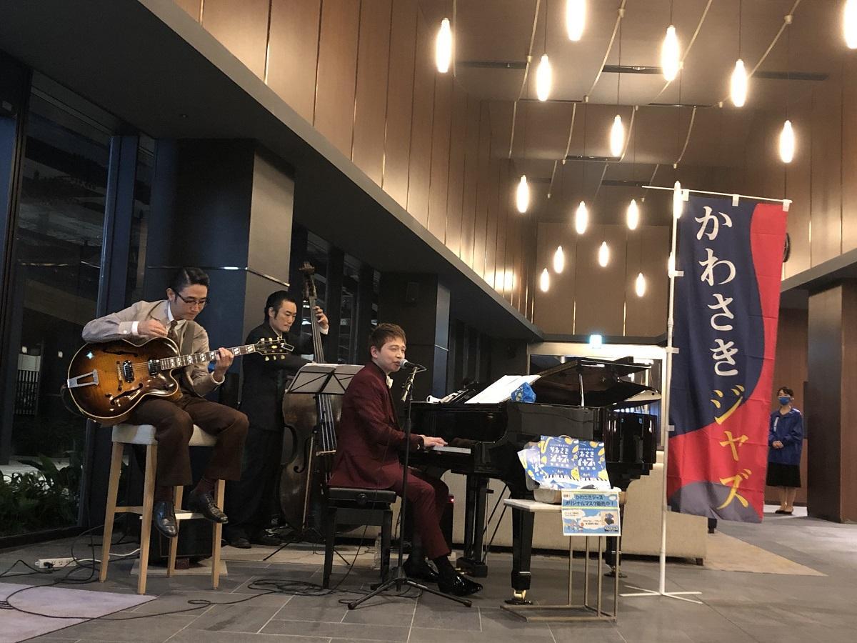 10月2日の荒井伝太さんのライブの様子
