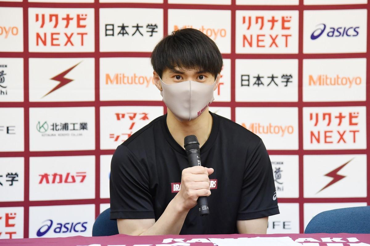 エナジーあふれるプレーで川崎に勝利を呼び込んだ藤井選手(撮影=加藤恵三)