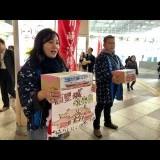 川崎駅前で募金活動 「ゆいまーる」精神で首里城の再建願う