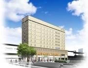 高円寺駅北口に駅直結の9階建てホテル-「黒酢バー」も