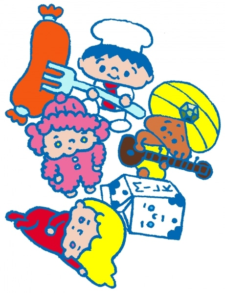 本秀康さんとしまおまほさんのイラストが展示される「MMT・(本まほTシャツ展)」