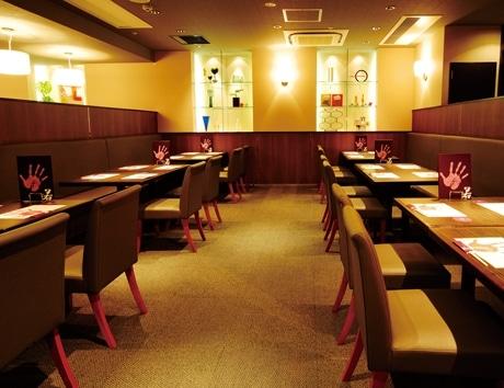 ヨドバシ吉祥寺にオープンした「Chanko Dining 若」の店内