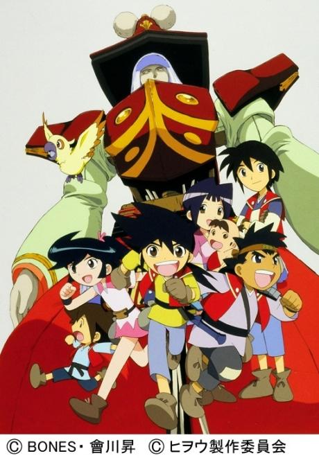 逢坂浩司さんがキャラクターデザインなどを手がけた「機巧奇傳ヒヲウ戦記」