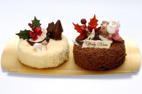 自由に飾りつけできるクリスマスケーキを発売