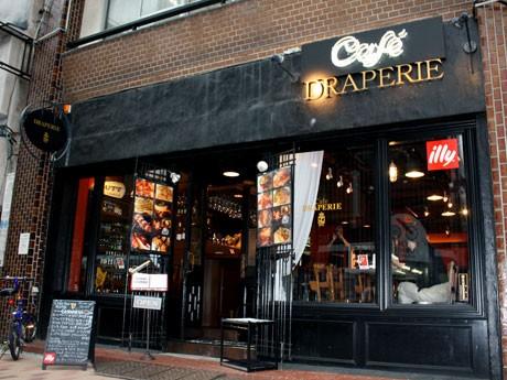 高円寺・南口エリアにオープンしたダイニングカフェ&バー「Cafe DRAPERIE」