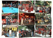 吉祥寺・月窓寺境内で夏祭り-沖縄民謡やエレクトーン演奏も