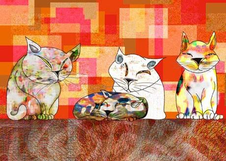 樹乃かにさんのイラスト展「ねこってさ2010・秋」展