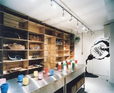 「BONDO」店内の様子 撮影:樽井利和(riwa tarui)