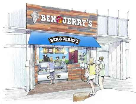 BEN&JERRY'Sコピス吉祥寺店イメージパース