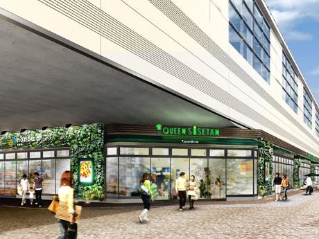 JR武蔵境駅西側高架下に新しい商業施設「nonowa武蔵境」