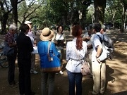 武蔵野の「街道」「みず道」を散策 ガイドが同行、歴史的背景を解説