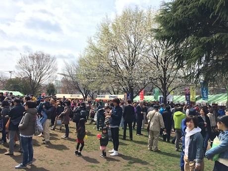 市内で毎年春に行われる「武蔵野桜まつり」でも販売される「むさしのプレミアム」ほか、市内の飲食店なども出店