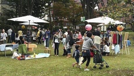 地元の人で作り上げる「さんかくフェスタ」の開催イメージ