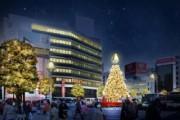 吉祥寺駅周辺でクリスマス企画多彩に イルミも各所で点灯中