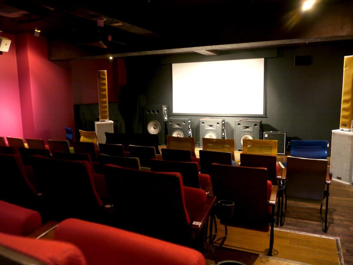 アップリンクが運営する「アップリンク渋谷」の映画館内の様子