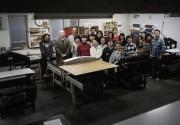 国分寺のギャラリーで版画展 89年の歴史ある武蔵野美術学園閉校を偲び