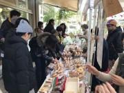 吉祥寺コピス前でパンの朝市「パンイチ!」 初のカンパーニュ特集も